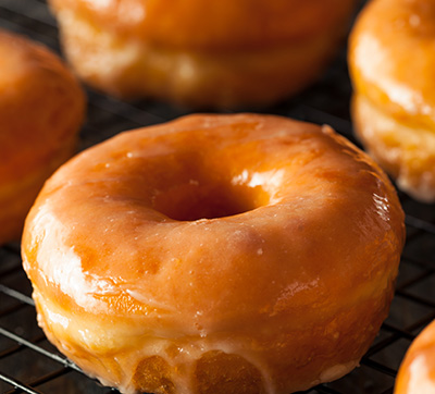 Apple Mini Donuts with Cinnamon Glaze